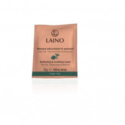 Buy Layno (lano) soothing and softening face mask with pink clay 12g