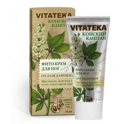 Buy Vitateka (Vitateca) cooling foot cream with horse chestnut 75 ml