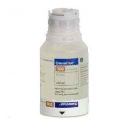 Buy Omnipak injection for injection 300mg iodine / ml 100ml №1