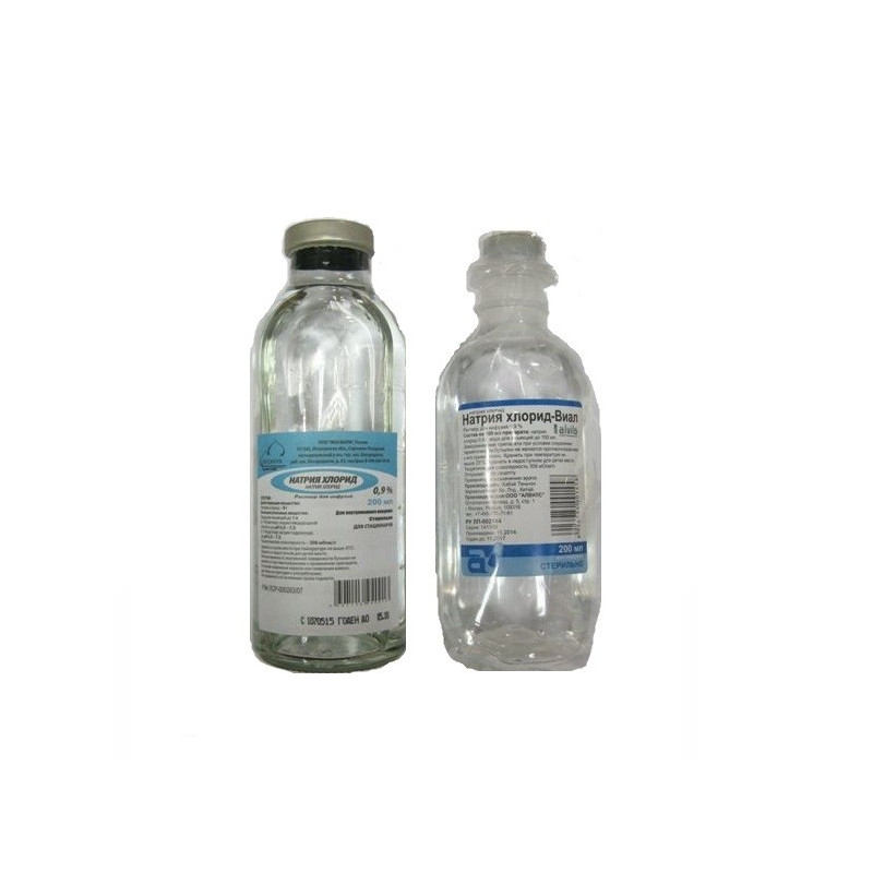 Sodium Chloride Infusion Solution 0.9% 200ml