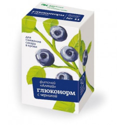 Buy Altai Phytotea №11 gluconorm with blueberries filter pack 2g n20