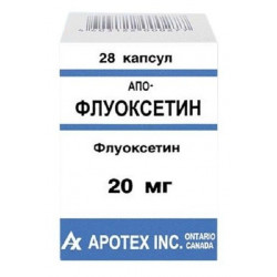 Buy Fluoxetine capsules 20mg №28
