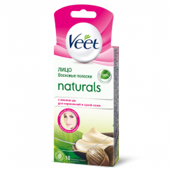 Buy Veet (viit) No. 18 wax strips for face