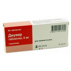 Buy Diuver pills 5mg number 20